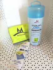 """Mission ENDURACOOL Instant Cooling Towel LG-GREEN 12""""X33"""" - NEW IN TUBE @"""