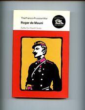 THE FRANCO - PRUSSIAN WAR. - ROGER DE MAUNI,ed by Clarke, 1970 1st, HBdj VG