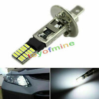 Superbright 6500K HID Xenon White 24-SMD H1 LED Bulbs for Fog Lights Driving DRL
