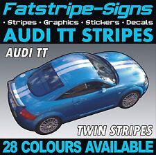AUDI TT STRISCE AUTO VINILE ADESIVI DECALCOMANIE GRAFICHE RACING TWIN Viper Strisce 1.8