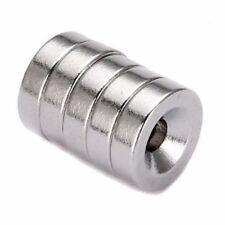 5 Stück Set Starke Magnete N35 Neodym Permanentmagnet 10mm x 3mm mit 3mm Loch
