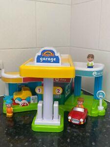 ELC Happyland Super Sounds Garage Playset Work Shop Petrol Station Car Wash
