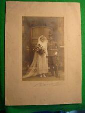 WW1 RAF Royal Flying Corps RFC Pilot Wedding Photo
