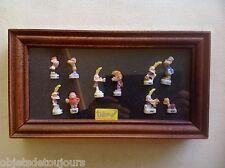 Coffret vitrine en bois de 10 fèves Titeuf