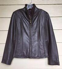 NEW Women's M. Julian Wilson 100% Leather Jacket in Size XS X Small Brown
