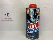 (Jt) Drano Crystals Professional Strength Clog Remover Kitchen Sinks 18 oz. New