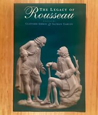 THE LEGACY OF ROUSSEAU - Clifford Orwin & Nathan Tarcov (Ed.)  LIKE NEW