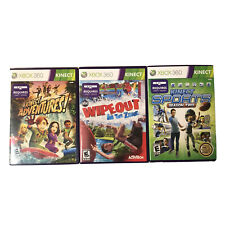 Kinect Sports Season 2 / Wipeout In The Zone / Kinect Adventures Xbox 360 Bundle