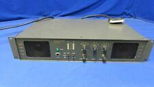 Videotek APM-800 Stereo Audio Program Monitor (orange connectors on back)