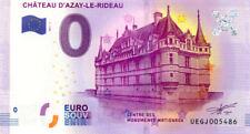 37 AZAY-LE-RIDEAU Château, N° de la 5ème liasse, 2017, Billet 0 € Souvenir