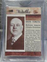 MOSS DEYONG 1930'S PRO BOXER 2019 THE BAR 1938 CHURCHMANS/1938 NEWSPAPER CLP 1/1