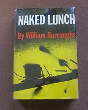 NAKED LUNCH by William S. Burroughs 1st printing Grove HCDJ 1959 junkie $6.00 NF