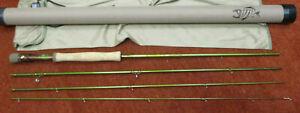 """G. Loomis Native Run GLX Fly Rod 9'6"""" for 8 line 4 piece"""
