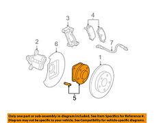 GM OEM Rear Suspension-Hub & Bearing 19122338