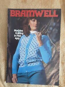 Bramwell Machine Knitting Pattern Book