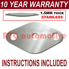 VAUXHALL OPEL ASTRA SIGNUM VECTRA ZAFIRA EGR BLANKING PLATE 1.5MM STAINLESS HD