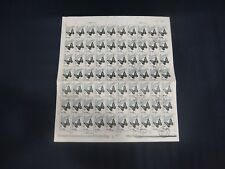 CHINA PRC 1963 S56 20-20 50f Butterfly CTO Used Full sheet NH RARE