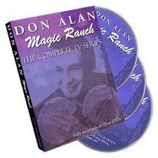Magic Ranch By Don Alan - 3 DVD Set - Jeux De Prestige Et Magique