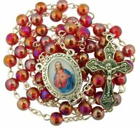 Religious Gifts Made in Ukraine Wooden Prayer Beads 11 Inch Rosary with Budded Cross Crucifix AInternational