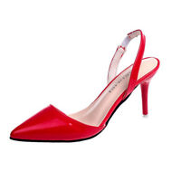 Women's Slingbacks High Heels Pointed Toe Sandals Fashion Pumps Stilettos Shoes