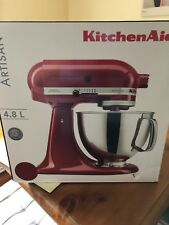 KITCHEN AID ARTISAN KSM150 Food Processor RED  BRAND NEW IN BOX