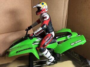 Hpi RC ATV Dirt Bike RIDER And Body