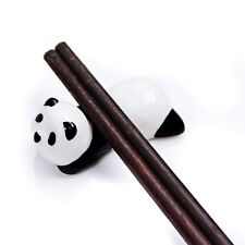 1PC Ceramics Animal Panda Chopsticks Stand Rest Rack Spoon Fork Holder Penholder