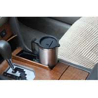Car Electric Heated Drink Travel Hot Coffee Tea Water Cup Mug Thermos Warmer New