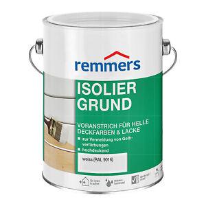 Remmers Isoliergrund RAL 9016 WEISS 5 Liter Sperrgrund Holz-Grundierung
