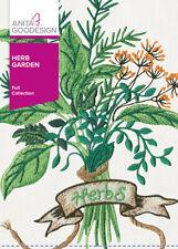 Herb Garden Anita Goodesign Embroidery Machine Design CD NEW 162AGHD