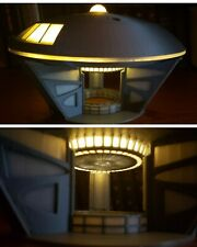 Jupiter 2 [Lost in Space] - Large - w/ battery-powered lights on Gantry stand