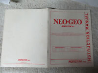 NEO GEO ROMSTAR RED     arcade game manual