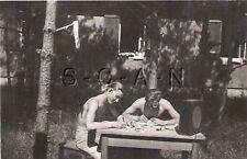 WWII Original German RP- RAD- Soldier- Semi Nude- Gay Interest- Shirtless- Radio