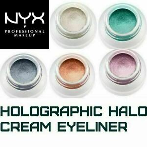 "NYX PROFESSIONAL MAKEUP Holographic Halo Cream Eyeliner, 5 Shades ""You Choose"""