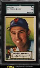 1952 Topps Monte Kennedy #124 SGC 7 NRMT (PWCC)