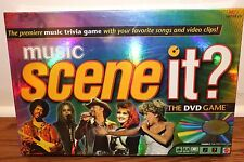 (NEW SEALED) MUSIC SCENE IT FAMILY NIGHT FUN PARTY BOARD GAME GAMES DVD