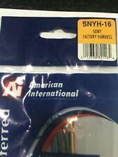 New listing 100% American International Wire Harness For Son 00004000 Y Radios, Models Listing Below