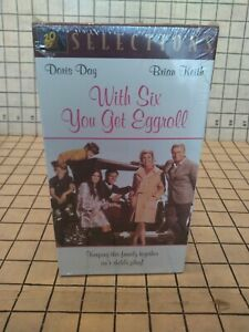 With Six You Get Eggroll (VHS) NEW SEALED.