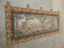 Antique French Beautiful Scene Tapestry 157X69cm (A131)