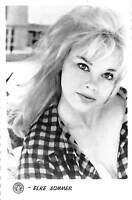 B55637 Elke Sommer Acteurs Actors 9x7cm