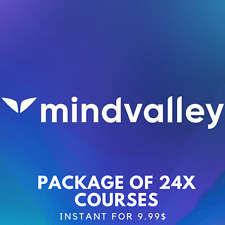 Mindvalley Package Of 24 Courses |💎 Value $999+
