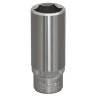 """S1414D Sealey WallDrive® Socket 14mm Deep 1/4""""Sq Drive [Sockets Individual]"""