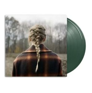 Taylor Swift - Evermore (2-LP) Deluxe Edition Green Vinyl Pre-order Ships June