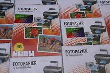 50  Blatt A4  180g Photopapier  echt  hochglänzend   Sofort trocken Fachhandel