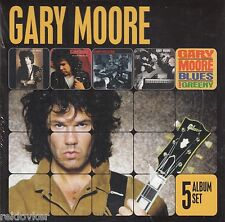 Gary Moore / After the War, After Hours, Blues for Greeny u.a. (5-CD-Box,NEU!)