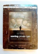 Saving Private Ryan Steelbook: 4K, Blu Ray, Digital Sealed New Mint Us