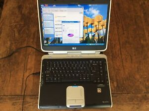HP PAVILION ZV6000 LAPTOP PC AMD ATHLON 2GHz WINDOWS XP working