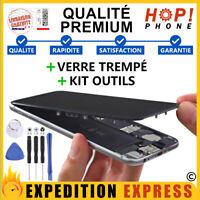 Ecran LCD iPhone 8 7 Plus Vitre tactile Noir Blanc + Outils + Verre Trempé