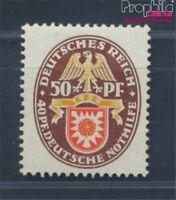 Deutsches Reich 434 mit Falz 1929 Wappen (8532322