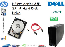"""80GB HP Pro 3300 3.5"""" SATA Hard Disk Drive (HDD) Replacement / Upgrade"""